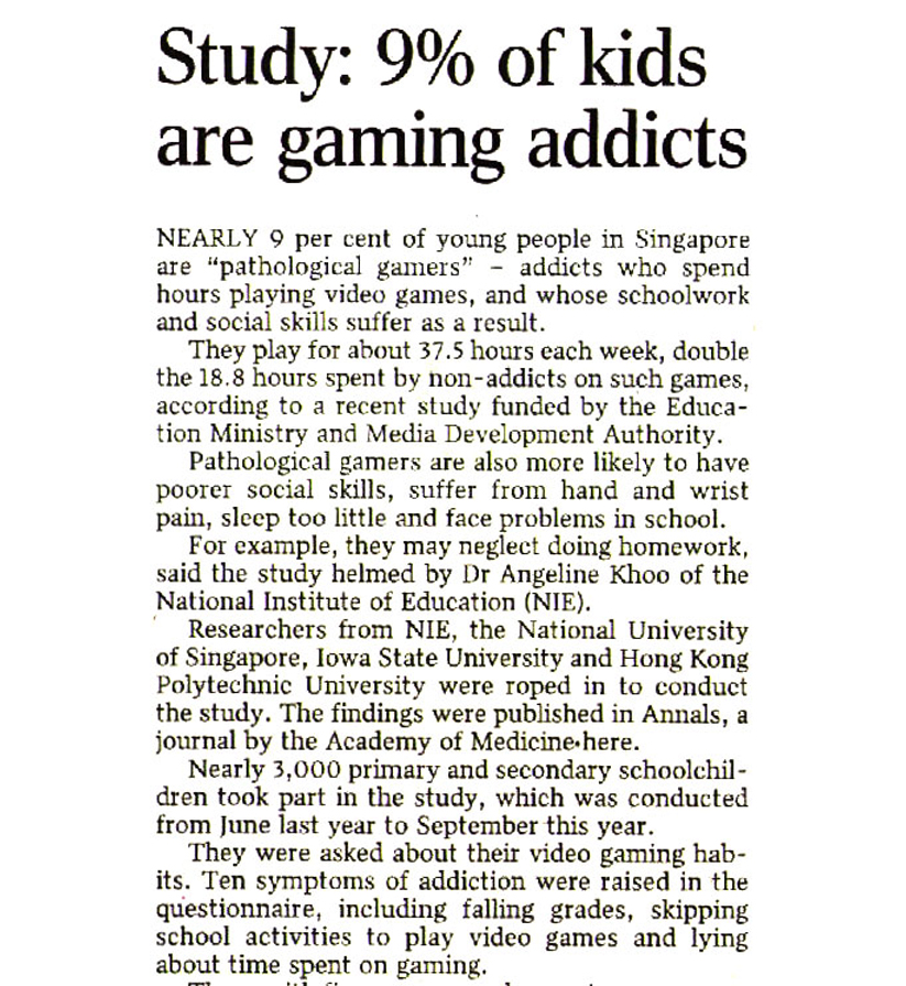 20101208-STHM-Home-B07-Study 9percent of kids are gaming addicts copy